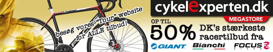 Billige cykler med fri fragt i anledning af Tour de France