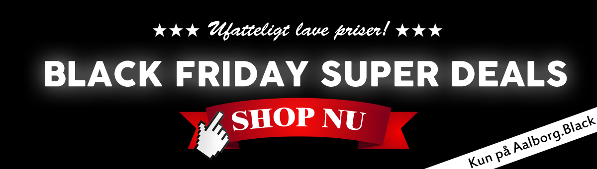 Spar masser af penge på Black Friday i Aalborg